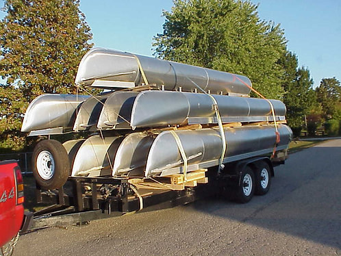 PONTOON BOAT LOGS/TUBES/FLOATS - NEW, FACTORY BLEMS, AND USED