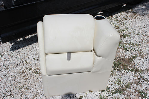 PONTOON BOAT SEAT LOUNGE ARM RESTS WITH STORAGE