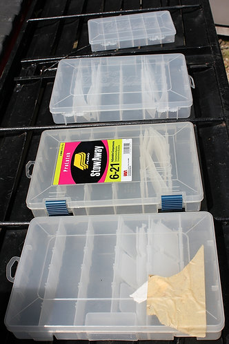 LURE TACKLE BOXES & IN DECK TACKLE BOX STORAGE BINS