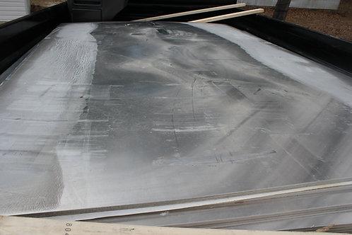 ALUMINUM SHEETING (.090 GAUGE SIZES 6.5'X8' AND 6.5'X10')