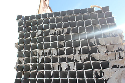 """ALUMINUM SQUARE AND """"T"""" SLOT TUBING FOR BOAT RAILING AND OTHER USES"""