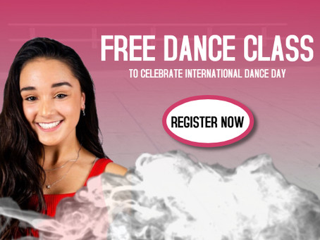 Celebrate with a Free Class!