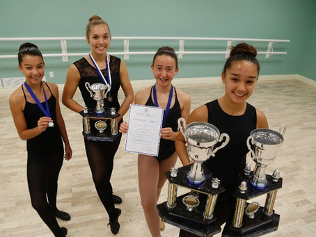 Local Dancers Perform Well Nationally