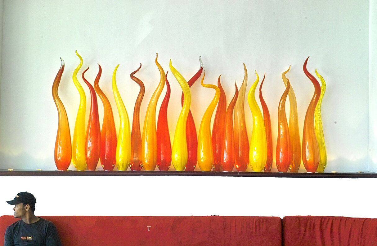 Glass Fire Niche