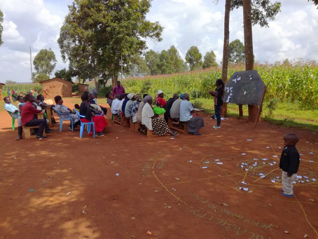 Involving the community: Participatory workshops with the parents and children.