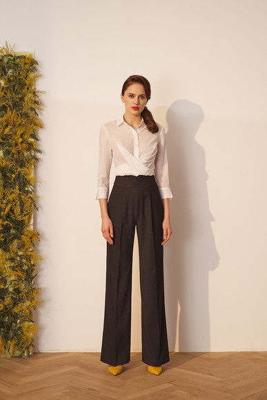 """Wrap"" shirt and ""Katherine"" pants"