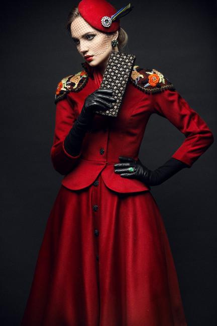 Clothes & style Ginger Jackie, Photographer Michail Panin, MUAH Ekaterina Kaganer, Model Lisa