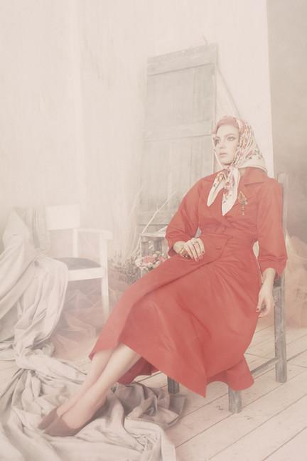 Clothes Ginger Jackie, Style&art director Anna Belozor, Photographer Olga Efremova, MUAH Irina Nersesyan, Model Anna Aleshina & Marina Perepelicina, florist Olga Aleksina