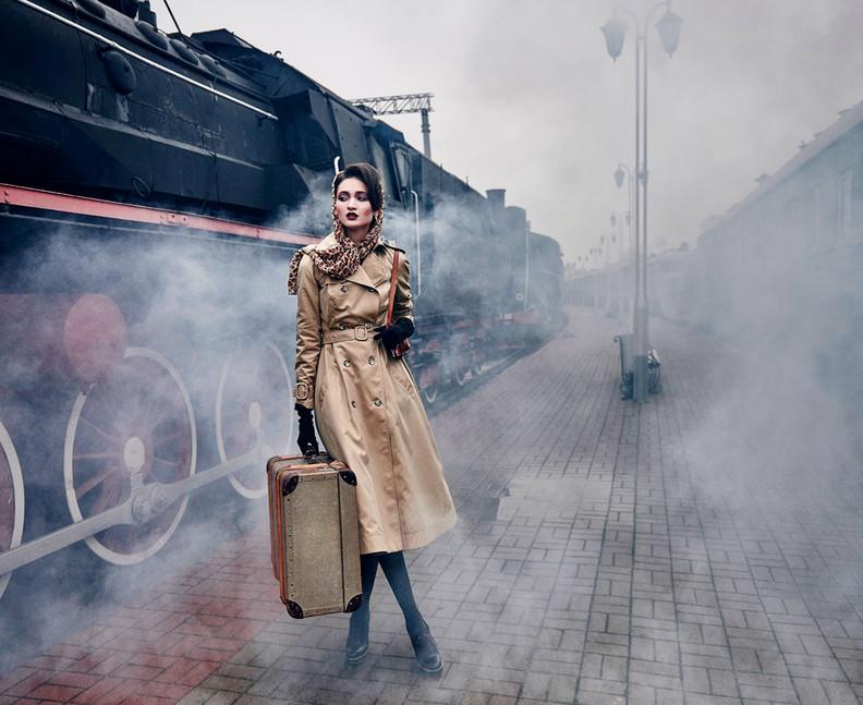 Clothes & style Ginger Jackie, Photographer Alex Yanbaev, MUAH Bazhenova Zhenia, Model Estella
