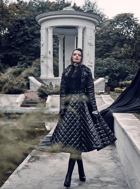 Clothes & style Ginger Jackie, Photographer Alex Yanbaev, MUAH Svetlana Malinina, Model Victoria