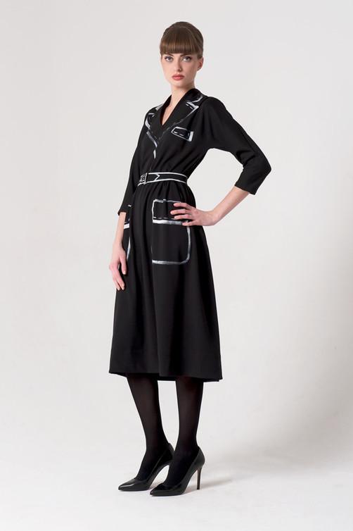 """""""Hermeselle"""" dress"""