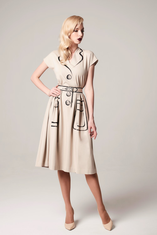 """Hermeselle"" dress"