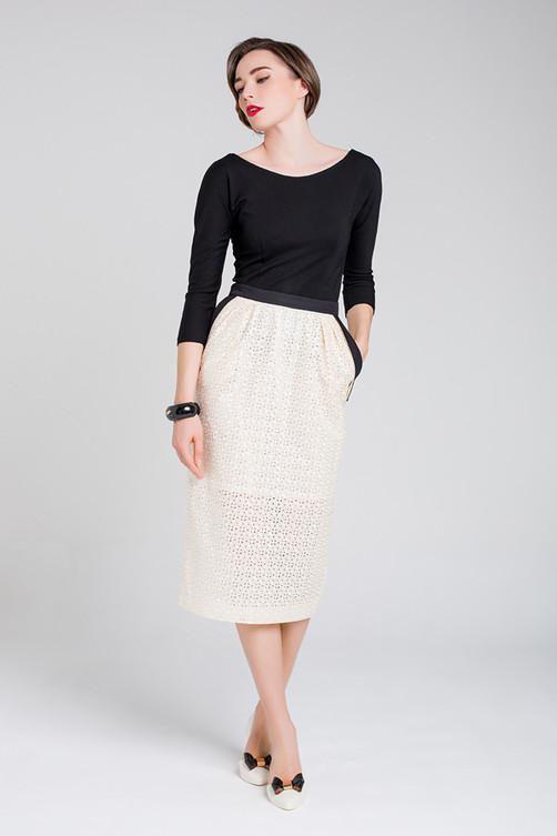 """""""Jo"""" blouse and """"Peg"""" skirt"""