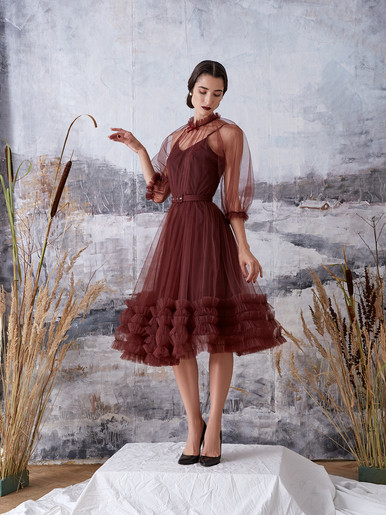 """Rouche"" dress"