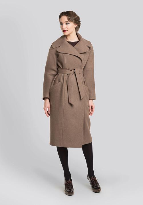 """""""Cocoon"""" coat"""