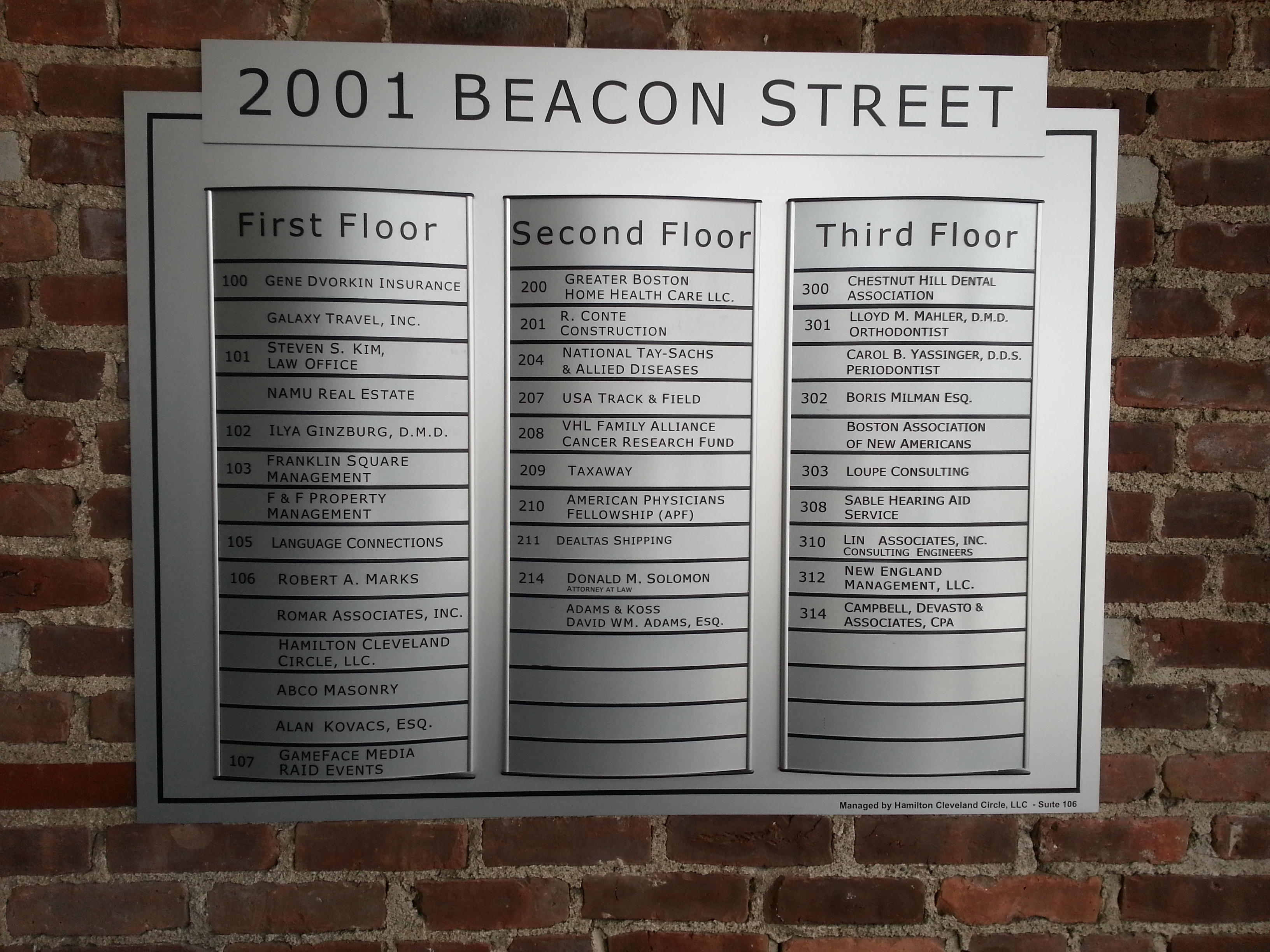 2001 Beacon Street
