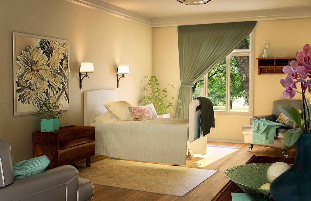 Hospice Bedroom