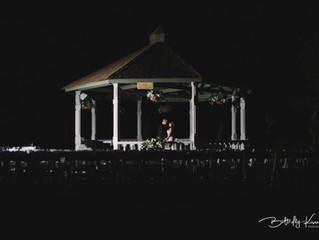 Romantic Lakeside Wedding of Marina and David