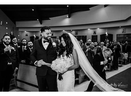 Erika and Nicholas...Love Locked Down at St. David's Church