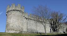 Die mittlere Burg Castello di Montebello