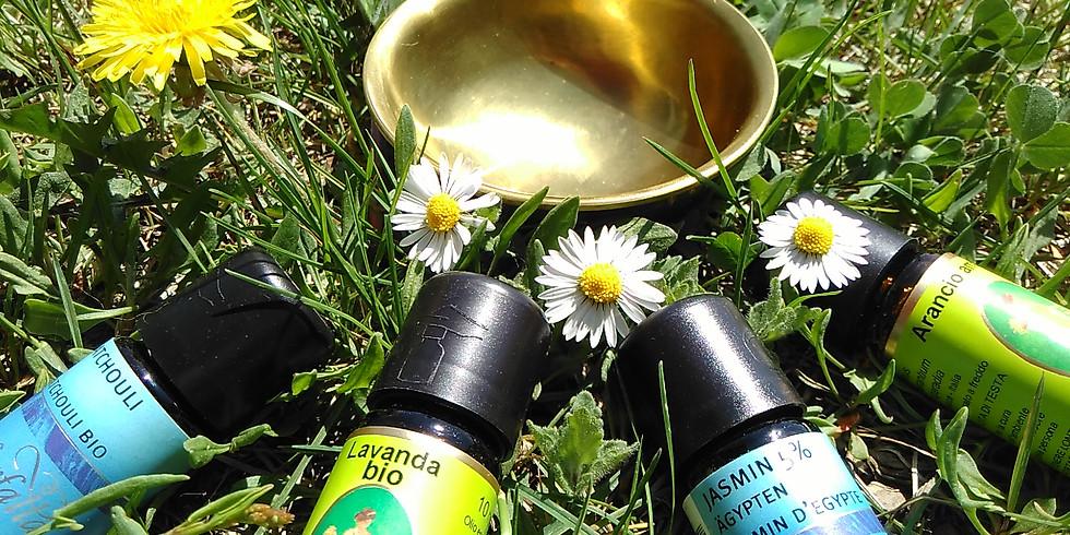 Harmonische Frequenzen in der Natur - Ätherische Öle