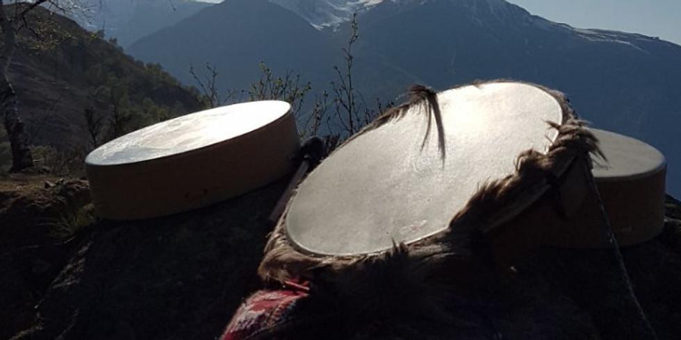 Cerchio Tamburo Sciamanico a Gola di Lago 04.08.20