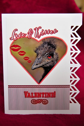 Love and Kisses Bird - Valentines