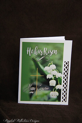 Easter  He has risen - lily of the valley