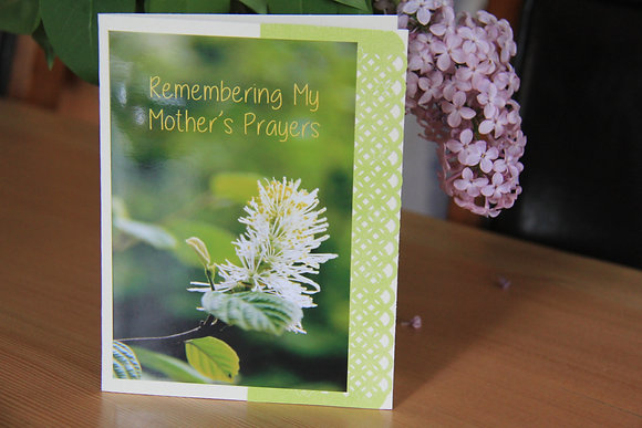 Remembering My Mother's Prayers