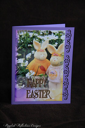 Easter - Mr. and Mrs. Bunny