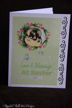 Easter - Love and Blessings lil chick