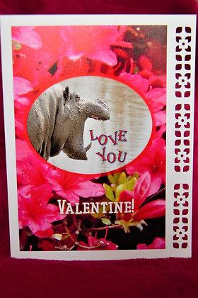 Huge Hippo Love - Valentine