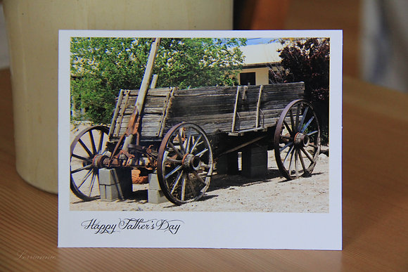 Father's Day Cards - Old Wagon