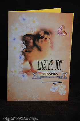 "Easter - Blessings Chick 5""x7"""