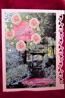 Love Walks Here - Valentine