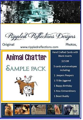 Animal Chatter Gift Card Set