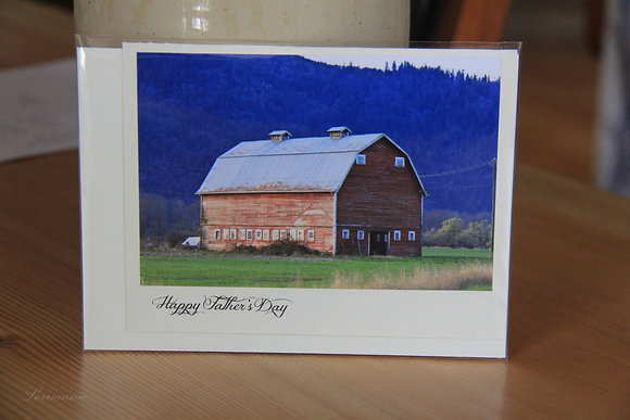 Father's Day - Red Barn