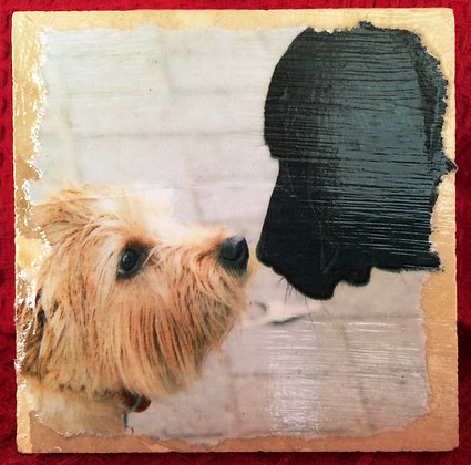 Gift Item - Tile - Puppy Love