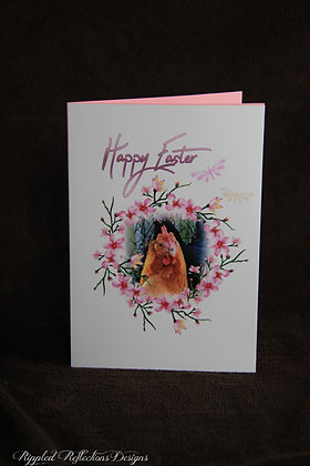 "Easter - 5""x7"" Henrietta Easter Greetings"