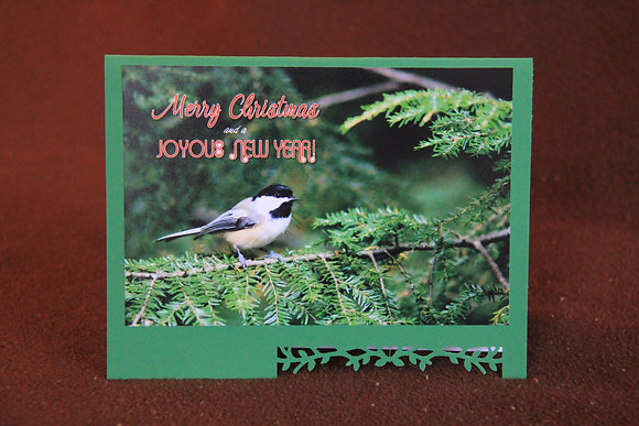 Chickadee Christmas Greeting