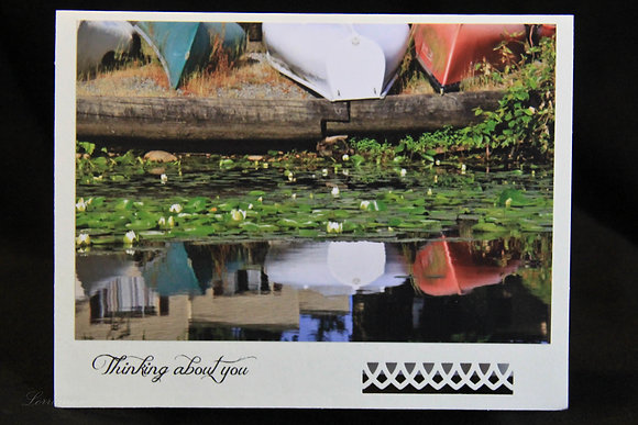 BWS - Thinking of You - Boats Reflected