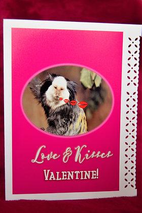Monkey Kisses - Valentine