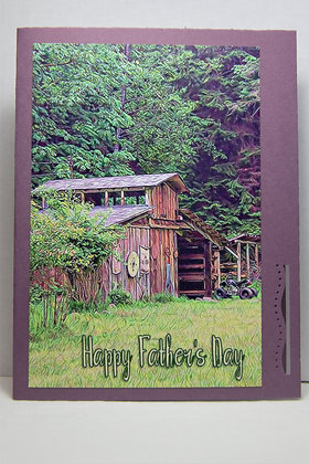 Happy Father's Day Barn and ATV