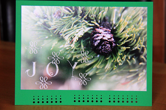 Pinecone Christmas Wishes