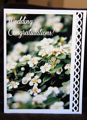 White Floral Branch Wedding