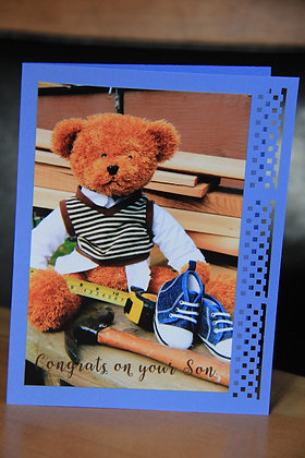 Baby Boy - Welcome-Carpenter Teddy