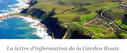 Newsletter de la Garden Route (Afrique du Sud)