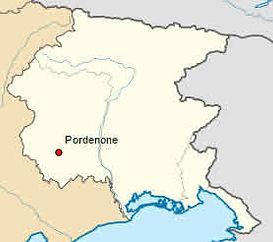 Province de Pordedone en Frioul - Vénétie julienne