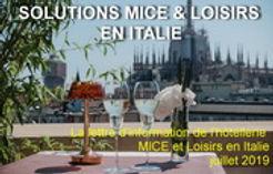 Newsletter Italie - juillet 2019