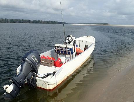 Pêche sportive au Gabon